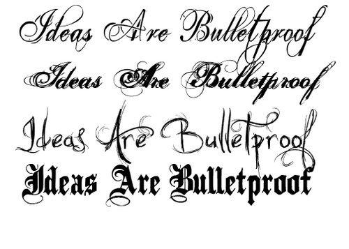 Meaningful Script Tattoo: Tattoo Lettering Ideas ~ tattooeve.com ...