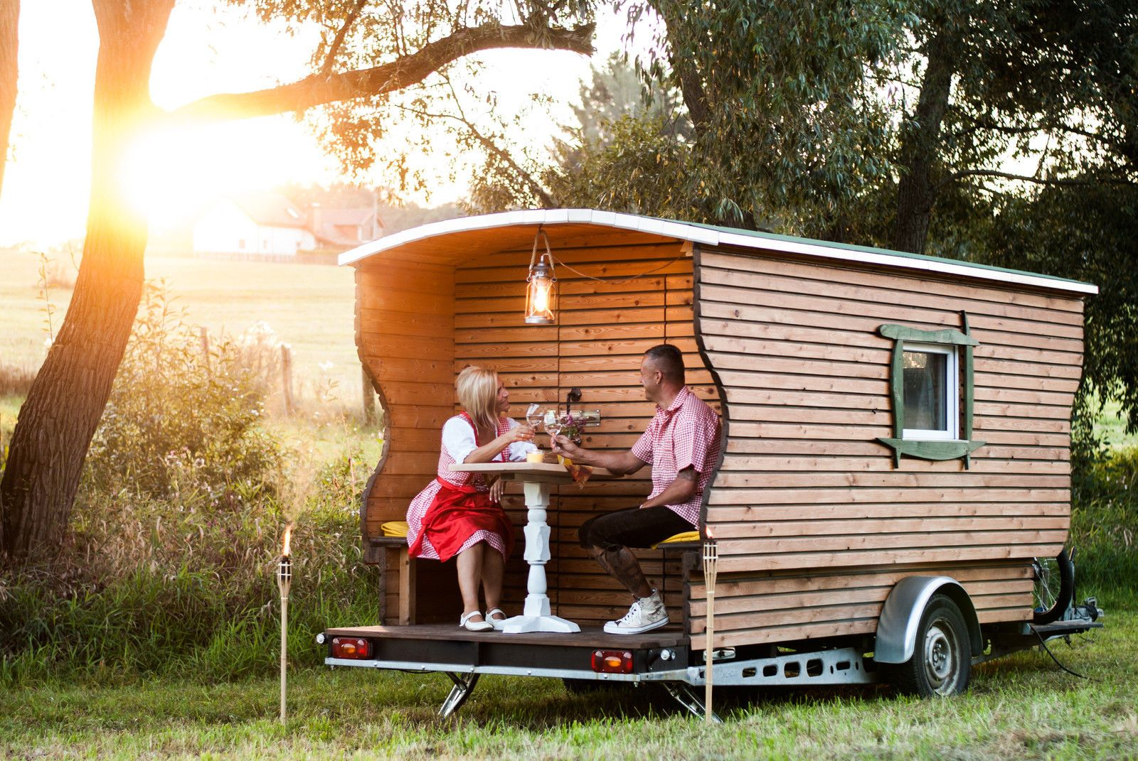 h ttenh nger sch ferwagen tinyhouse wohnwagen holz haus auf r dern ebay small house tiny. Black Bedroom Furniture Sets. Home Design Ideas