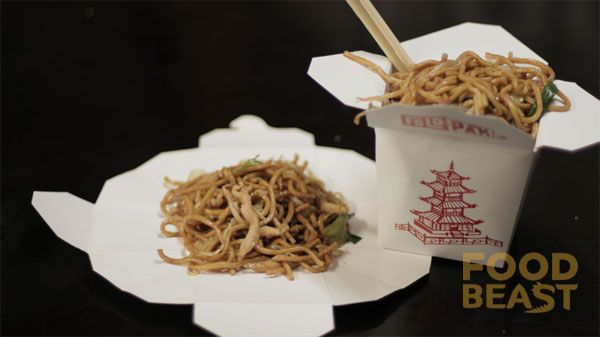 Chinese Takeout Containers Are Actually Made To Fold Out Into Plates Food Eat Life Hacks