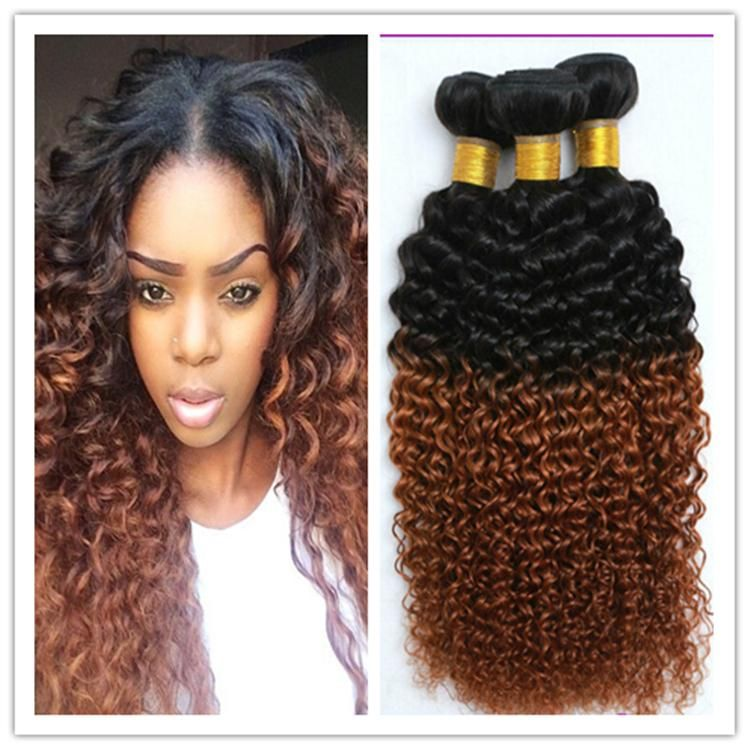 Cyber Monday Sale Ombre Africa Kinky Curly Brazilian Human Virgin