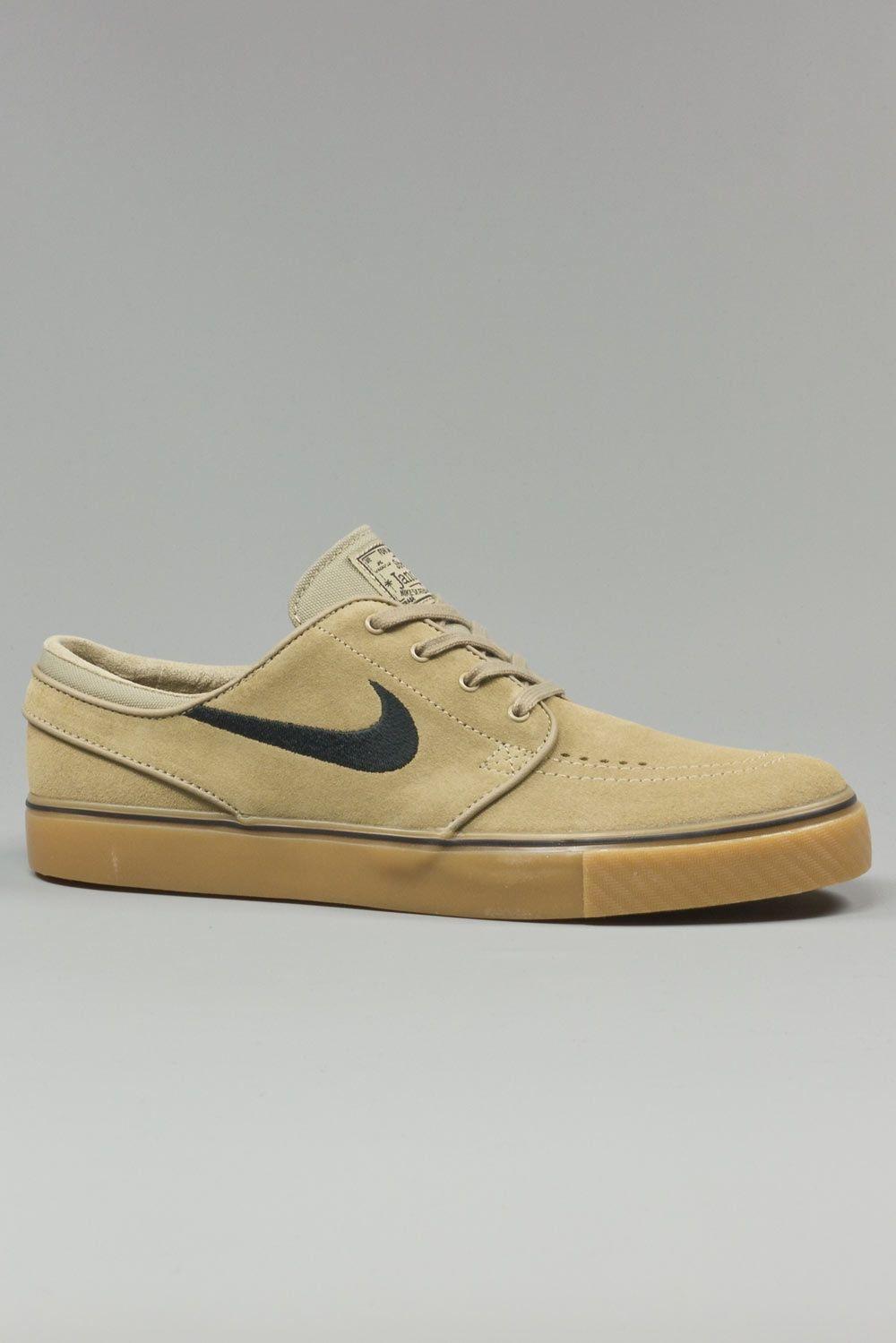 Nike SB Zoom Stefan Janoski Cork Elite Ale Brown Skate Shoes | Stefan  janoski, Cork and Brown leather
