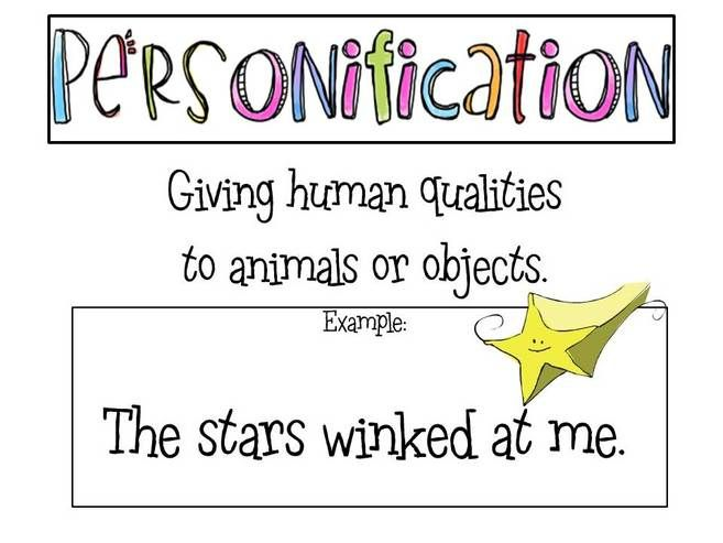Personification Examples Sentences Google Search Poetry