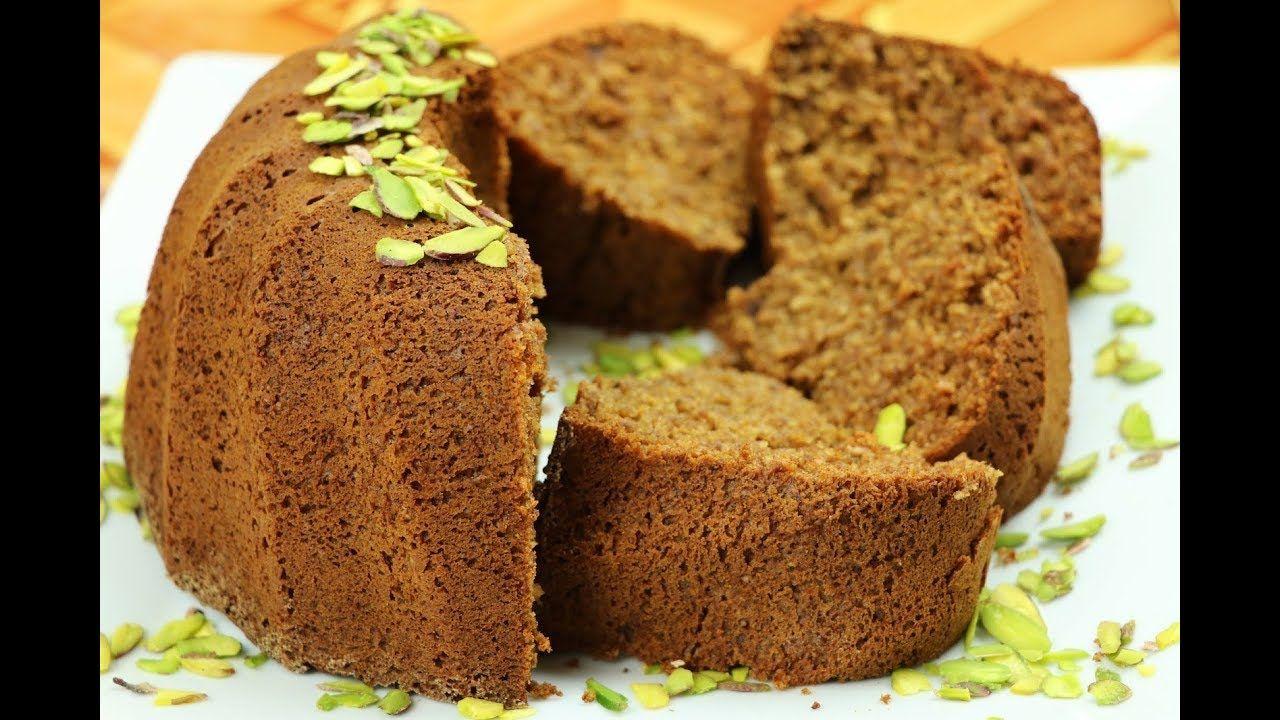 كيك صحي للرجيم بدون دقيق ولا سكر كيكة الشوفان والتمر مع رباح محمد الحل Healthy Cake Food Oat Cakes