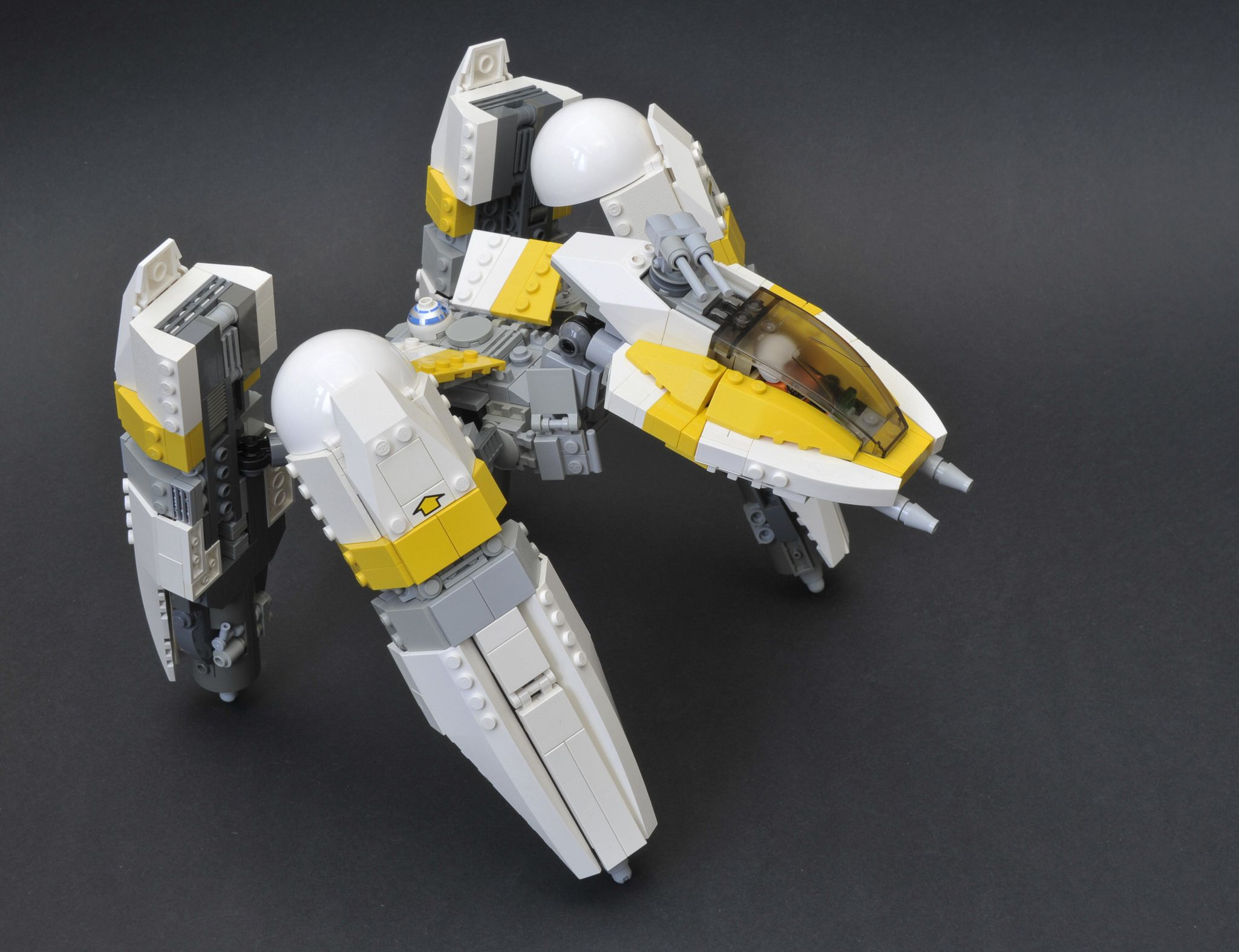 Redesigning Star Wars' Coolest Vehicles (Using LEGO) Y-Wing with WALKER MODE!!!