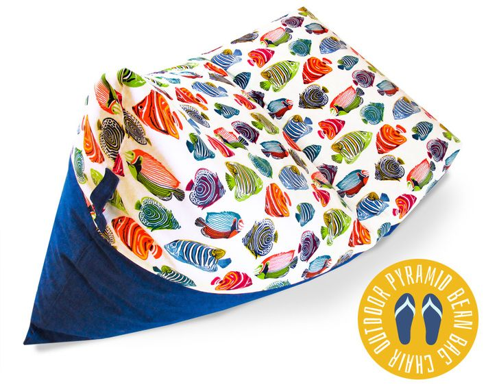 Pyramid Bean Bag Chair: Fabric Depot | Sew4Home