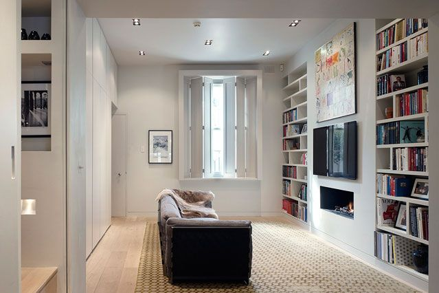 alcove shelving in built storage small living room ideas - Shelving Ideas For Living Room