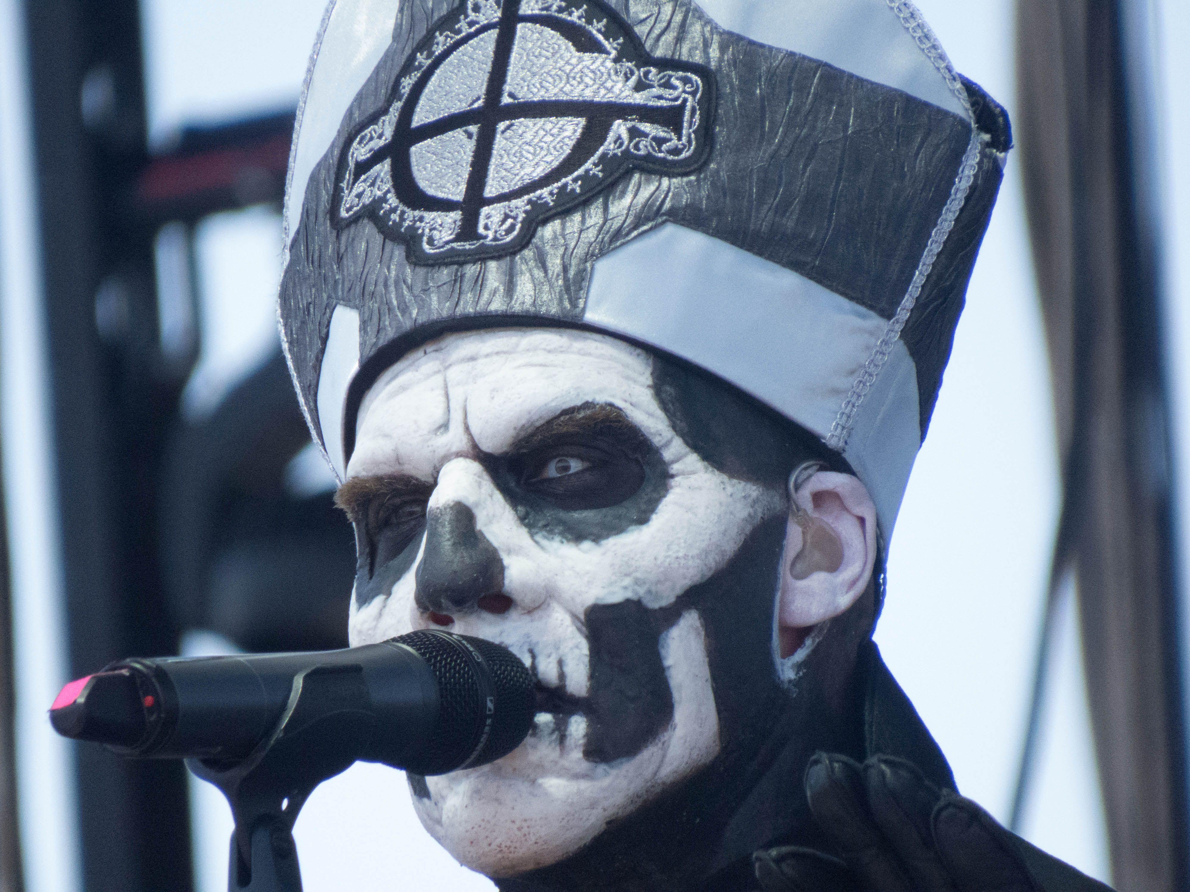 Papa Emeritus II (Ghost B.C.) - Coachella 2013   Music   Pinterest ...