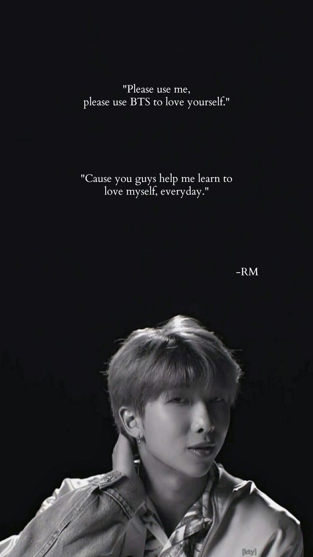 181006 Love Yourself In New York Rm Ending Ment Bts Quotes Bts Lyrics Quotes Bts Qoutes