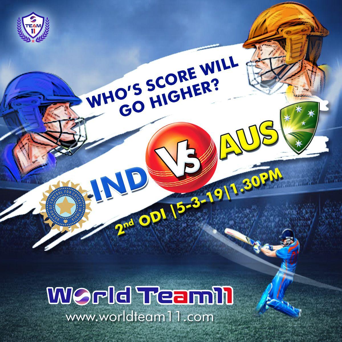 India vs Australia 2nd ODI Hurray! You have got a chance