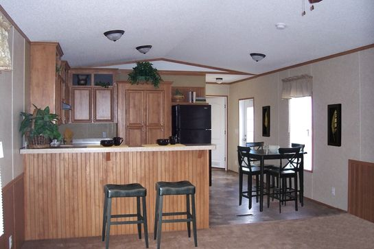 Kitchen Sink Island Bar In A Single Wide Trailer