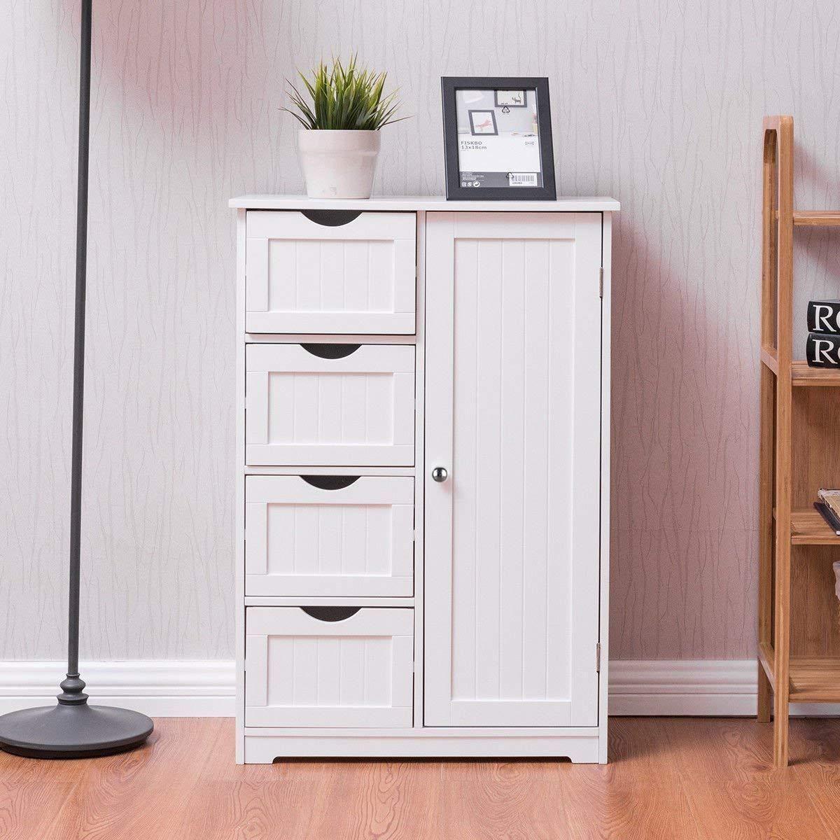 Home Bathroom Floor Cabinets Cupboard Storage Bathroom Standing Cabinet