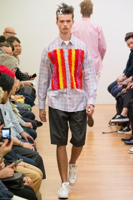 Comme des Garçons Shirt   Spring 2015 Menswear Collection   Style.com