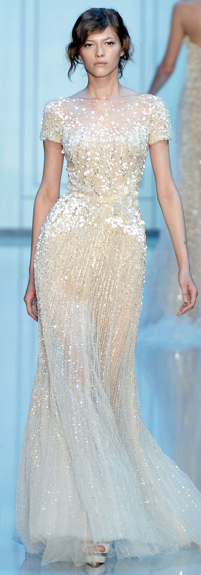 Elie Saab Fall Winter 2011 Haute Couture | Elie saab fall, Couture ...