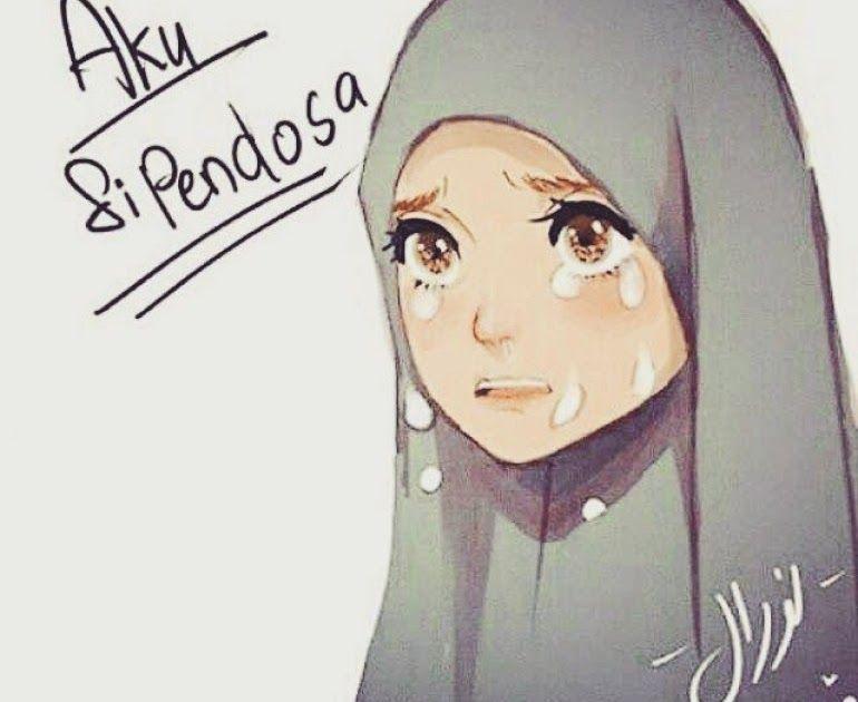 Terbaru 30 Foto Kartun Wanita Berhijab Menangis Gambar Kata Sedih Muslimah Cikimm Com Download Story Wa Animasi Cewek Berjilbab Gambar Gambar Anime Kartun