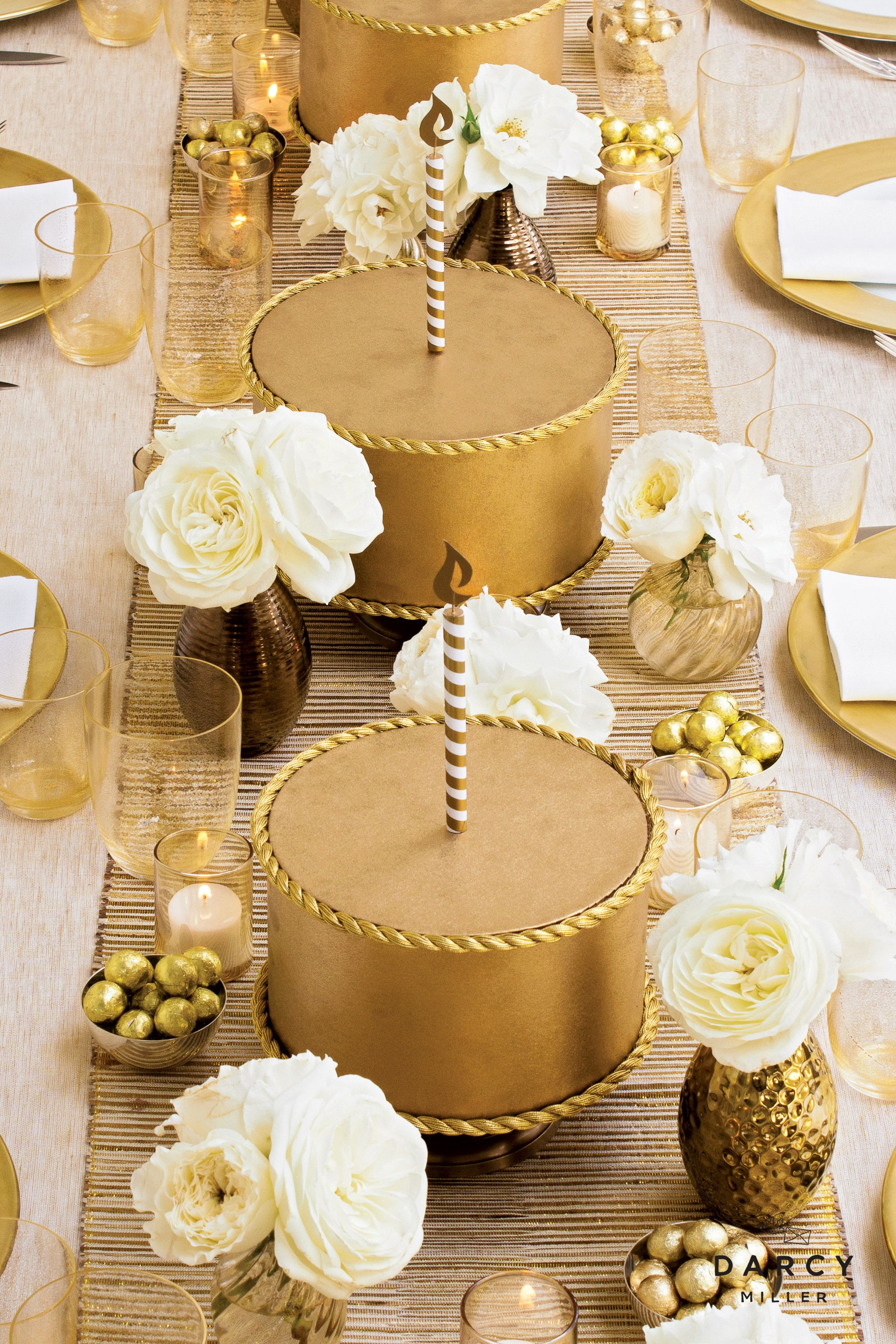 Fake The Cake Centerpieces Darcy Miller Designs Cake Centerpieces Fake Cake Cake