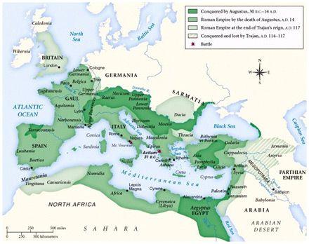 Battle Of The Teutoburg Forest Germans Massacre Three Roman - Map of rome under trajan