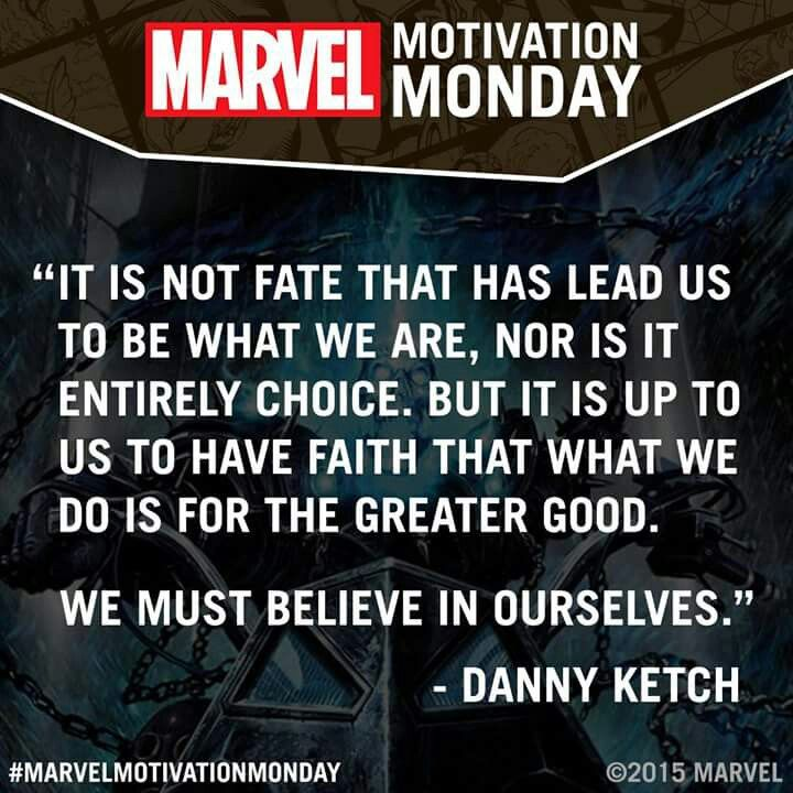 Ghost Rider Quotes About Life And Death: Marvel's Motivation Monday