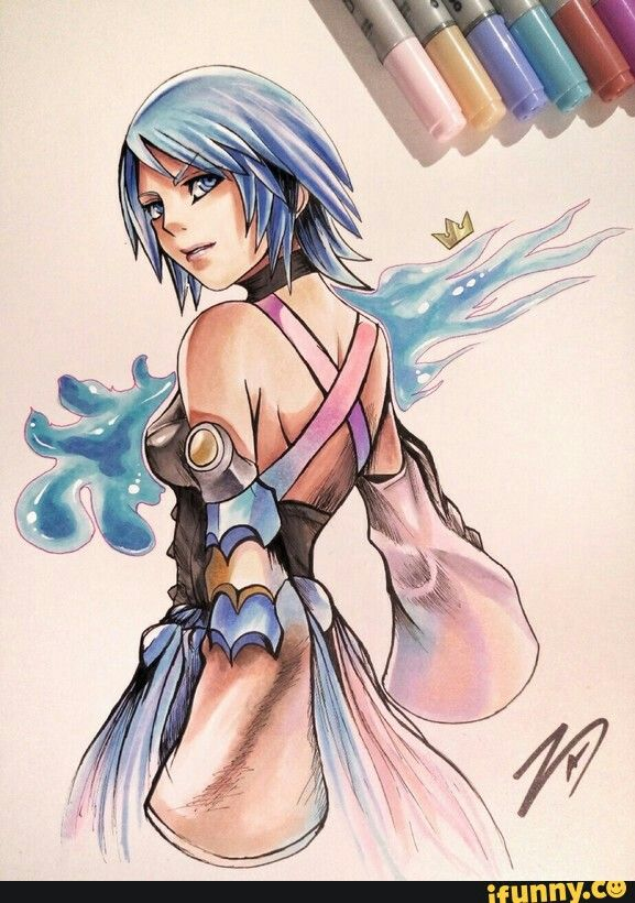Draw an Aqua | Kingdom hearts | Pinterest | Juego