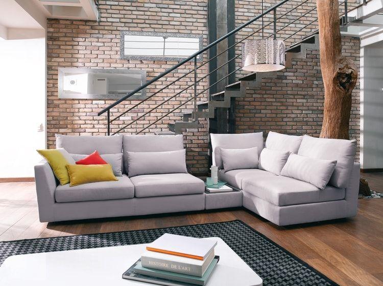 Canapé Salma par Conforama Déco salon salle à manger Pinterest