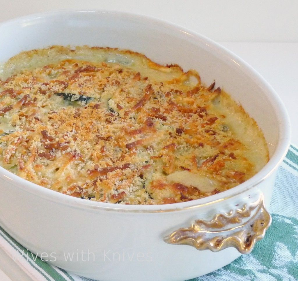 Zucchini Gratin - Ina Garten