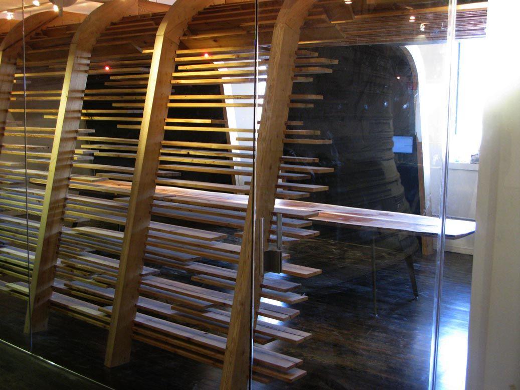Modern Wood Screen Wall ~ Modern wood wall screen google search social