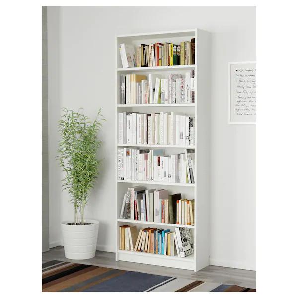 BILLY Boekenkast, wit, 80x28x202 cm   IKEA in 2020   Billy ...