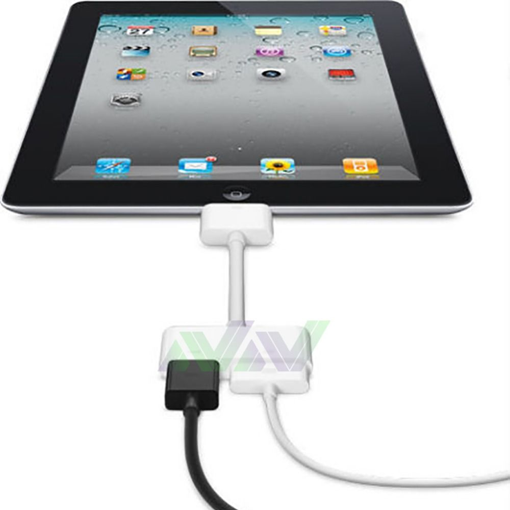 1080P Dock Connector to HDMI TV Adapter Cable Lead For iPhone 4s /& iPad 2 3 new