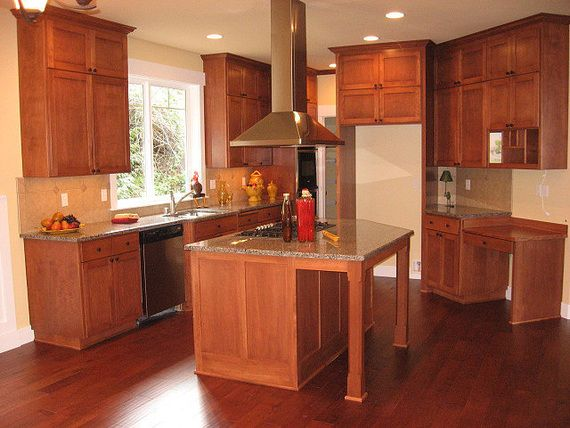 Natural Cherry Shaker Cabinets Google Search