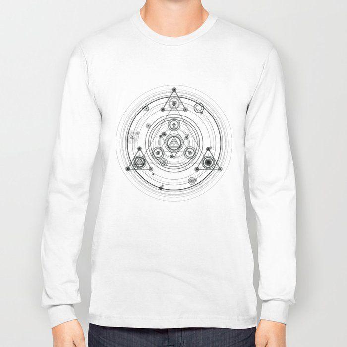 Occult Geometric  Sacred geometry Streetwear  Tshirt design