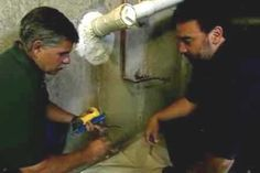 with general contractor Tom Silva - thisoldhouse.com - from How to Fix a Leaky Basement Wall