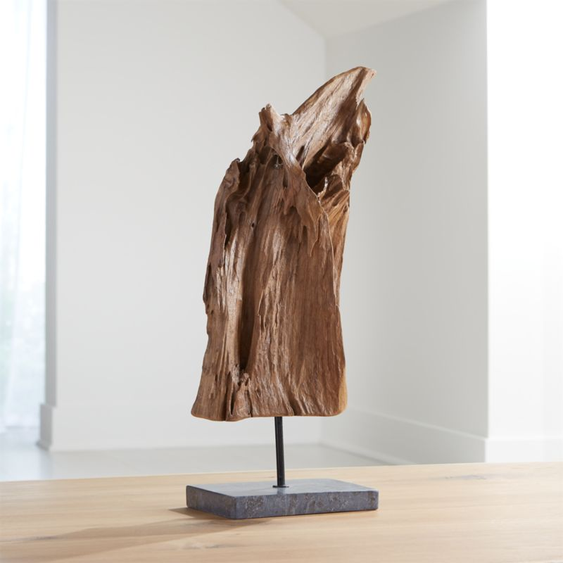 Teak Sculpture On Stand Reviews Crate And Barrel Crate And Barrel Sculpture Organic Modern