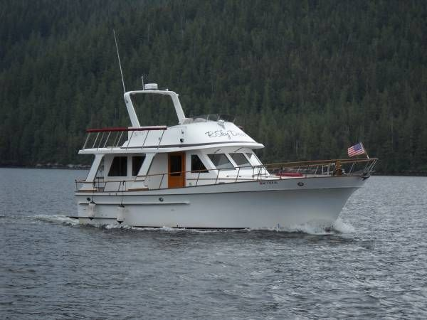 38 Ft Europa Trawler Sedan End Of Summer Sale Power Boats Boat Used Boats