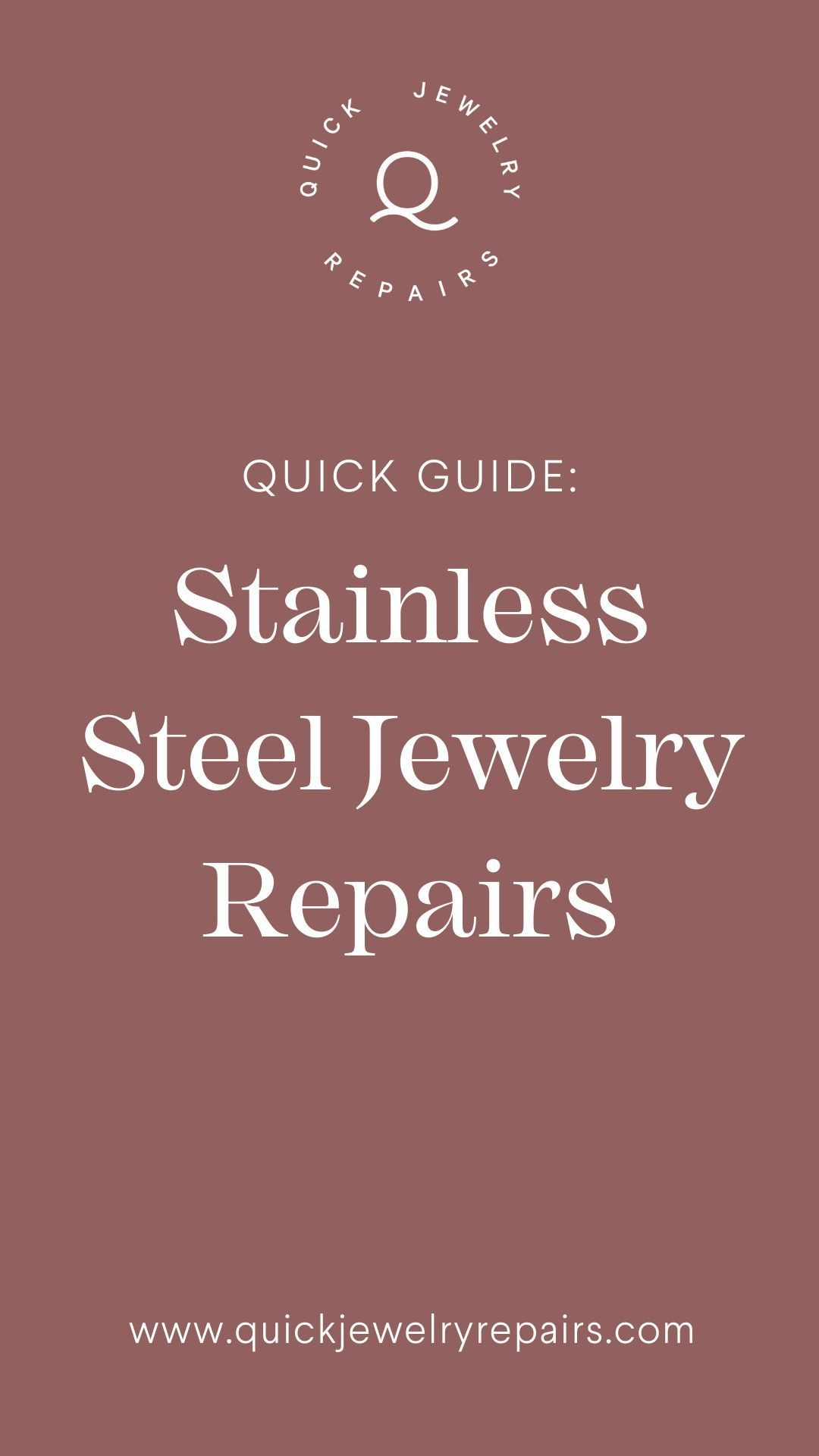28+ Stainless steel jewelry repair near me ideas