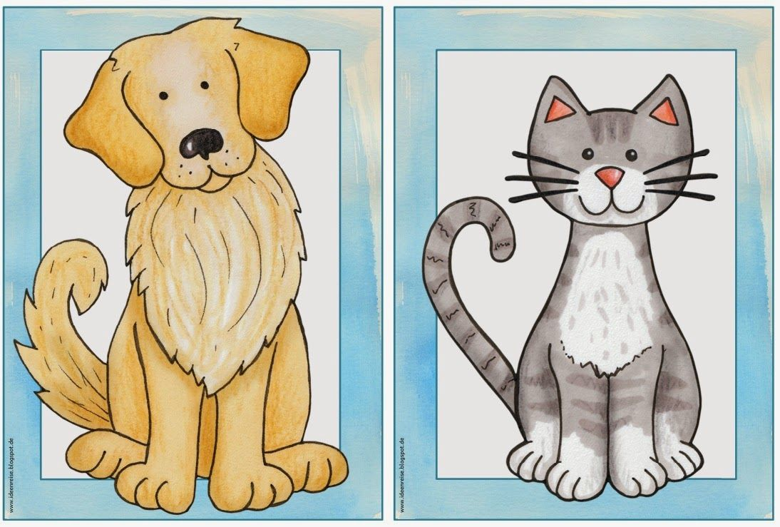 "Ideenreise Allerlei Material zum Thema ""pets"" English"