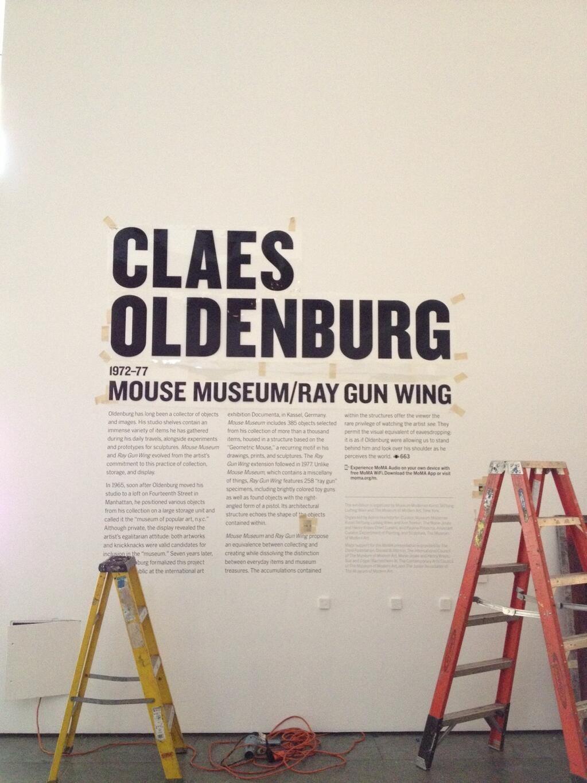 Moma Design Studio Wall Text Museum Branding Floor Graphics