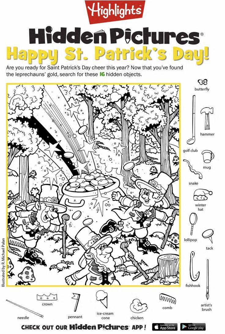 Celebrate March Celebrate March Hidden pictures