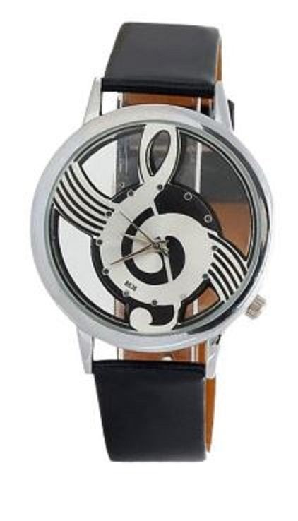 Awesome Watch for Music Lovers! Unique and Affordable Gift Idea! Hot Sale Musical Note Pattern Watch For Women