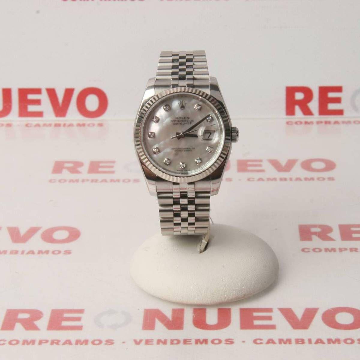 Reloj Rolex Oyster Perpetual Datejust 116234 De Segunda Mano E277144 Rolex Oyster Perpetual Rolex Relojes Rolex