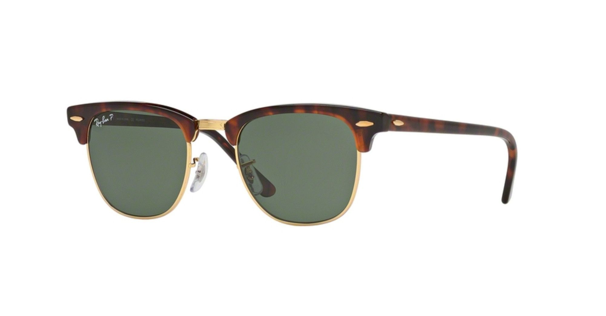 Ray-Ban RB3016-990/58 Red Havana Clubmaster Sunglasses | Products ...
