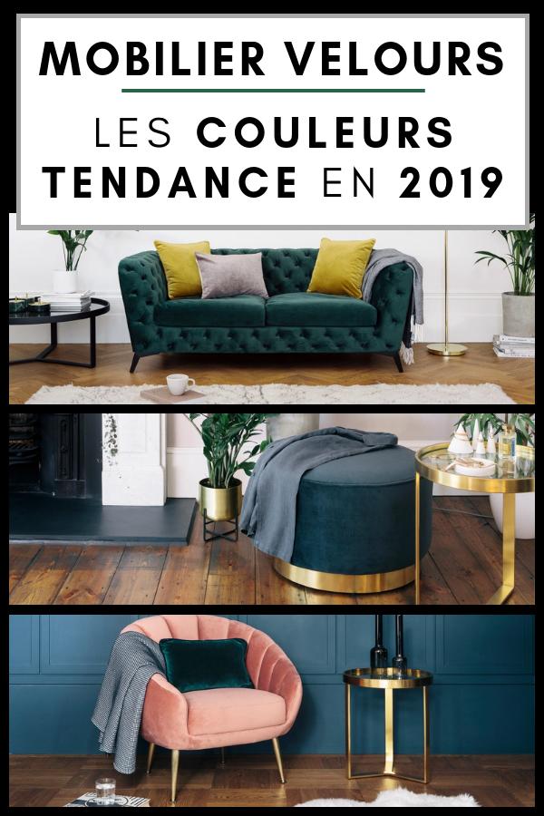 Mobilier En Velours Couleurs Les Tendances 2019 Chez Made Com Mobilier De Salon Mobilier De Salon Contemporain Mobilier