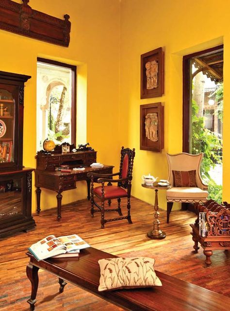 Drawing Room Sofa Designs India: Fabindia Furniture (With Images)
