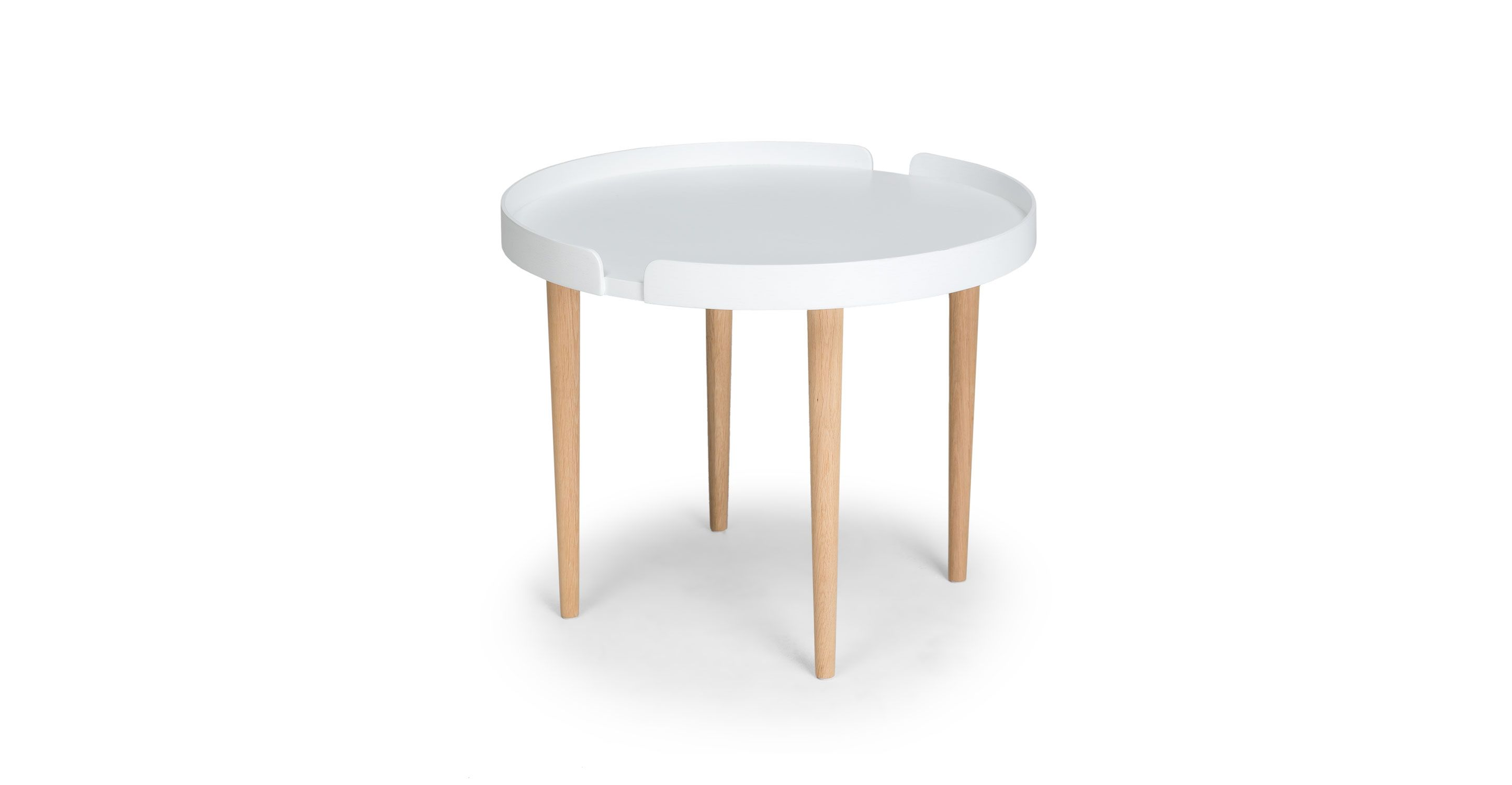 White coffee table in oak wood article trei contemporary white coffee table in oak wood article trei contemporary furniture geotapseo Choice Image