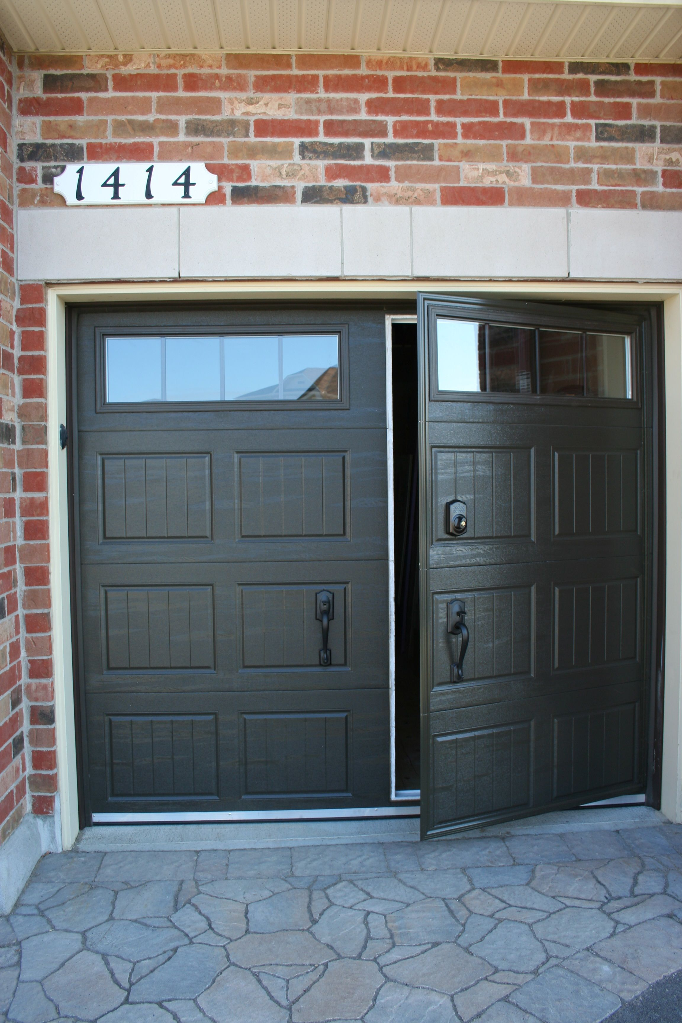 Residential Walk Through Garage Door Installation Repair Hudson Valley D D Doors Garage Doors Garage To Living Space Garage Door Installation