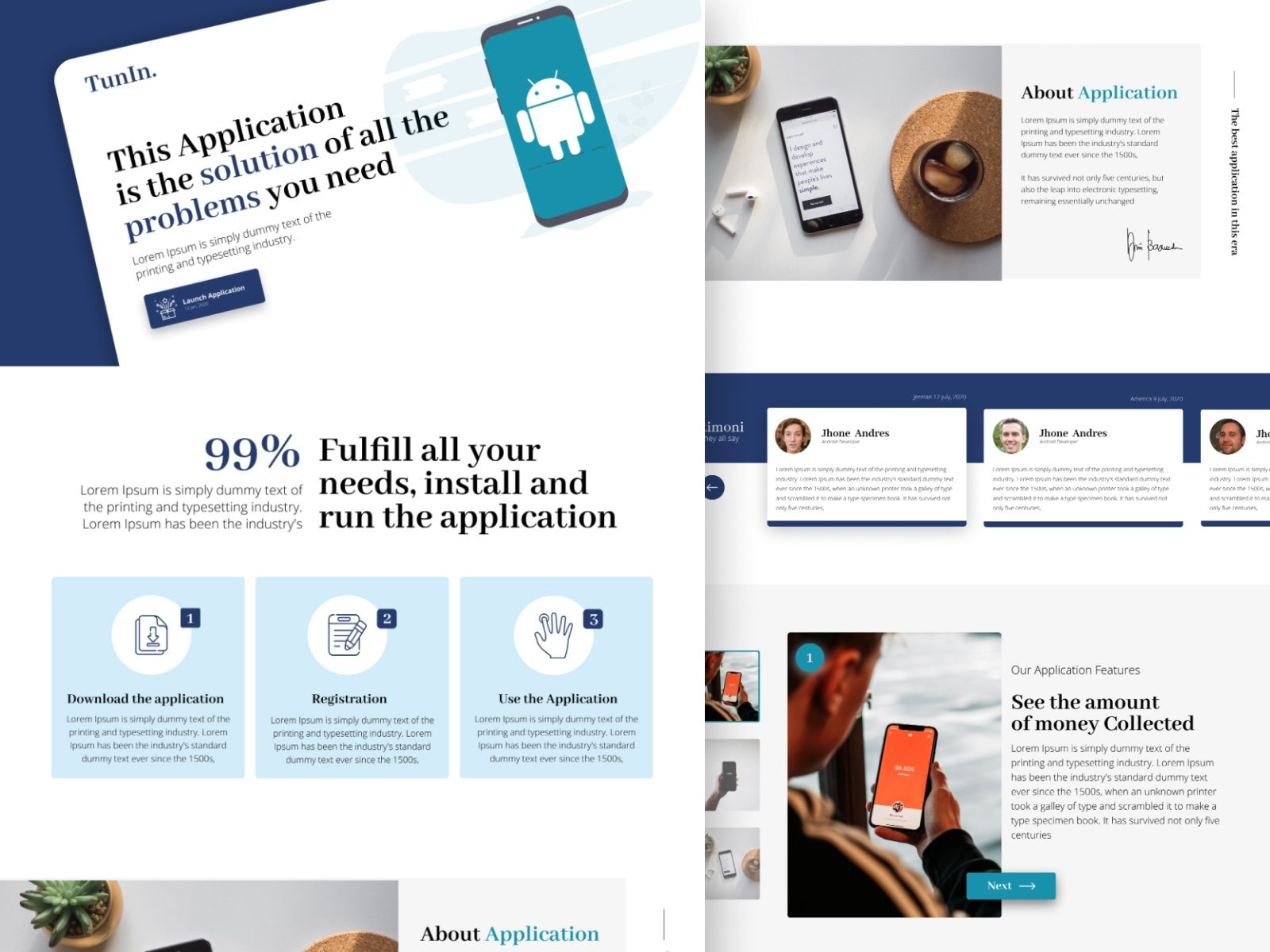 TunIn Application Launch Concept in 2020 Dribbble