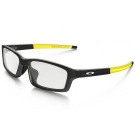 6643a7583a09c Oakleys Crosslink Pitch glasses Satin Black frame   Clear lens (Asia Fit)