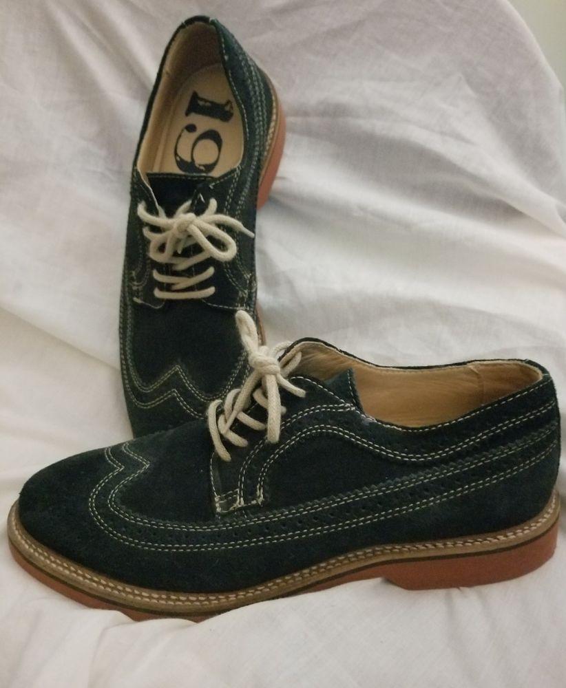 5c528364d54 1901 mens oxford wingtip 8.5 M blue suede shoes Brogues Nordstrom exclusive   1901  Oxfords