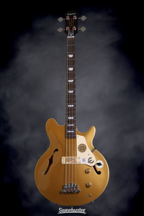 Epiphone Jack Casady Artist Series Signature Bass Metallic