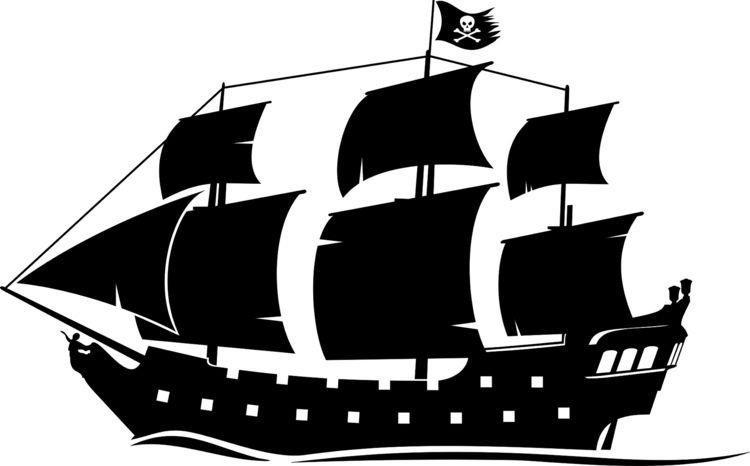 Elegant wandschablonen ausdrucken piratenschiff meer vorlage kinderzimmer