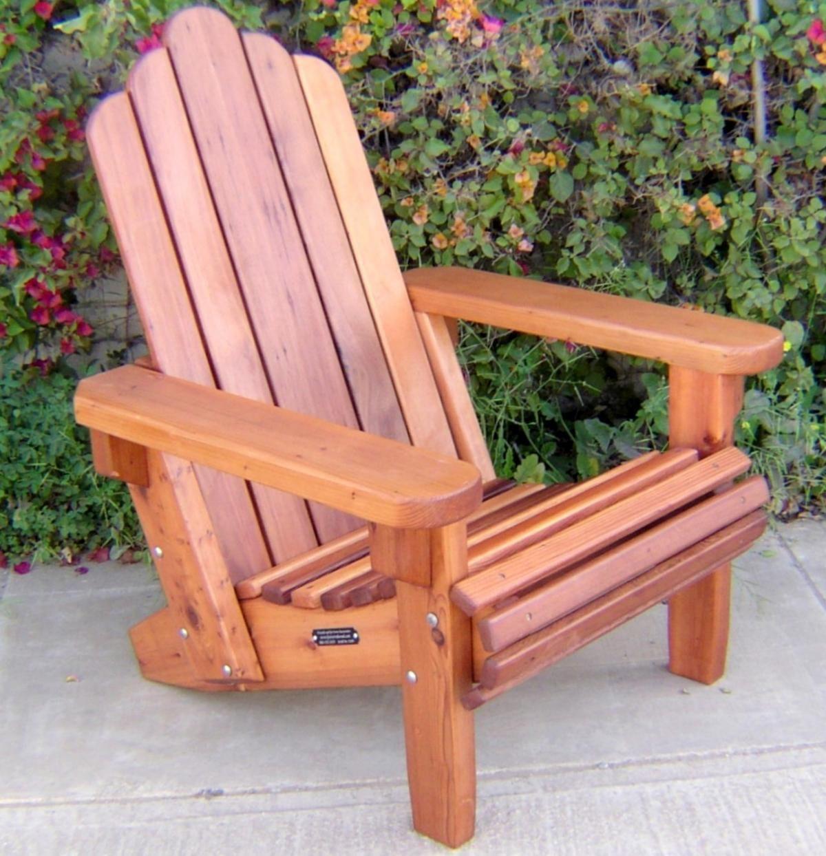 2019 Redwood Adirondack Chair Americas Best Furniture Check More