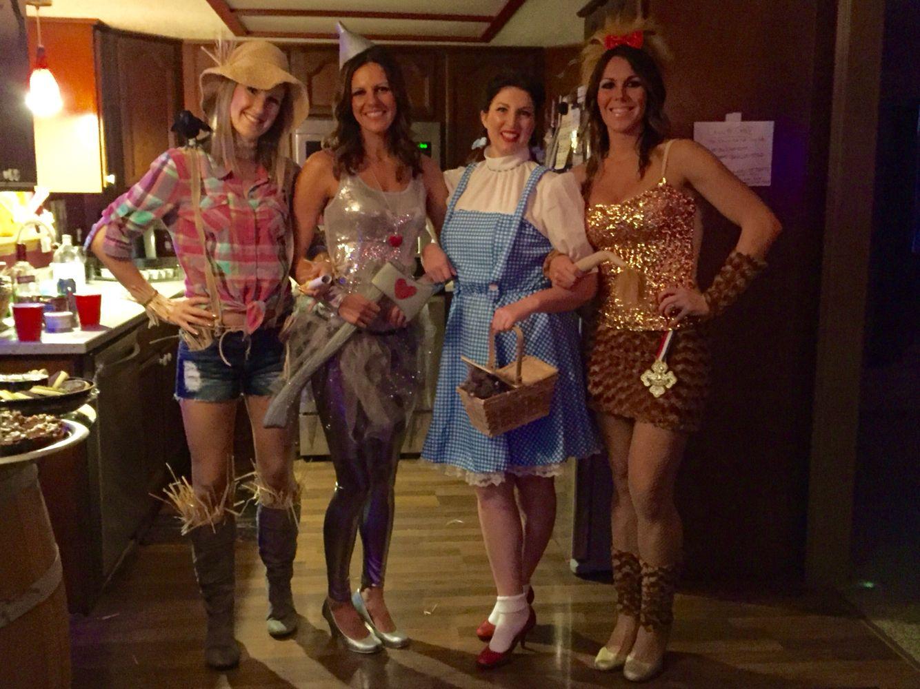 Group Halloween Costume. Wizard of Oz. Tin Man. Dorothy. Cowardly ...